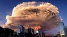 ภาพถ่าย ภูเขาไฟคัลบูโค ปะทุ ที่ ชิลี ความงามที่น่าสะพรึงกลัว