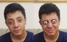 เด็กหนุ่มวัย 16 ค้นพบพรสวรรค์สุดสยอง!! ถลนลูกตาตัวเองออกมานอกเบ้า ได้มากสุดถึง 12 ม.ม. (คลิป)